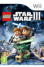 LEGO STAR WARS III: THE CLONE WARS FOR NINTENDO Wii / EXCELLENT CONDITION