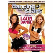 DANCING WITH THE STARS SIZZLE & GROOVE LATIN DANCE (DVD) Brand New sealed