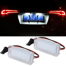 1Pair License Plate Light 18 LED Lamp For Ford Mondeo Focus 5D C-MAX Canbus
