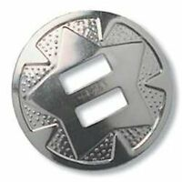 """Star Conchos 1-1/2"""" (38 mm) Nickel Plated 10/pk Tandy Leather 1320-03"""