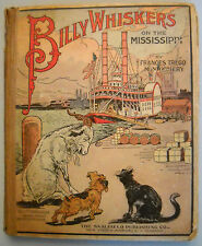 Billy Whiskers on the Mississippi by Frances T. Montgomery (1915, color plates)