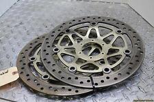 97-03 Honda Cbr1100xx Front Left Right Brake Rotors Discs STRAIGHT