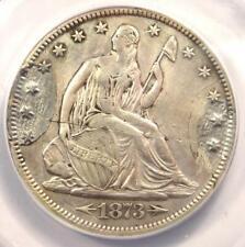1873-CC Arrows Seated Liberty Half Dollar 50C - ANACS XF40 Details (Ex-Jewelry)!
