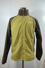 THE NORTH FACE Men's Fleece Winter Jacket Full Zip Olive Green Size Medium