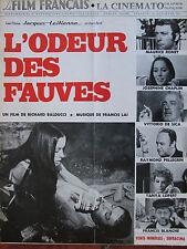 Le Film Français N°1411 (5 nov 1971) L'odeur des fauves - M Ronet- J Chaplin