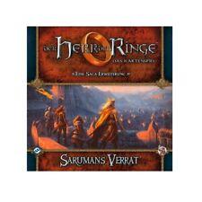 El Señor de los Anillos Juego Cartas - Sarumans Verrat - Hdr-Saga-Erweiterung 3