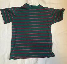 Vintage Polo Ralph Lauren T Shirt Ringspun 100% Cotton Made In USA Stripes M RRL