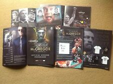 Notorious Connor McGregor UFC Cage Fighter oficial programa Floyd Mayweather