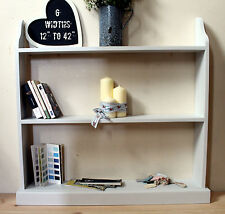 Free standing shelving unit wooden bookshelf uk made hand-painted 17 colours