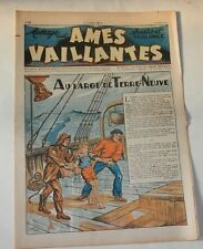 AMES VAILLANTES  Sourire et Vaillance - Numéro 13 du 30 mars 1947