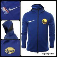 NIKE GOLDEN STATE WARRIORS THERMA FLEX SHOWTIME NBA FULL-ZIP HOODIE SIZE XL NEW