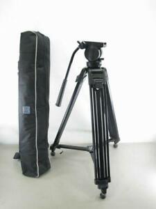 Benro AD71F w/ K5 Head Twin Leg Video Fluid Head Tripod Kit AD71FK5