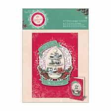 Papermania A5 Decoupage Card Kit - Bellissima Christmas