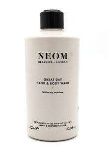 Neom Great Day Hand & Body Wash 300ml NEW- No Pump Top