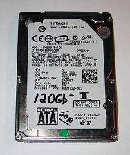 "Hitachi 120Gb 2.5"" Laptop Hard Drive SATA HTS545012B9SA00 Microsoft# X820732-003"