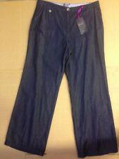 Marks and Spencer Indigo, Dark wash Wide Leg Jeans for Women