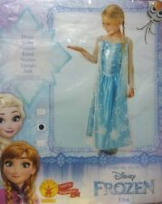 Costume carnevale Disney Frozen Elsa Rubies 620975 Taglia L 7-8 anni