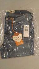 Dittos Women's Sienna Mid Rise Skinny Indigo Blue Jeans Size 5/27