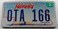 "Estados unidos matrícula de Nebraska con carro plan ""www.nebraska.com"". 10629."