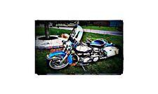 1969 Harley Davidson Shovelhead Bike Motorcycle A4 Photo Poster