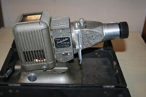 Post War Kodaslide Model 5 Projector 1947 In Stand Box Plus Film Pressure Plate