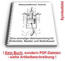 Wasserstoffmotor selbst bauen - Wasserstoff Motor Motoren Technik Patente