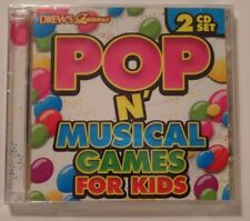NEW SEALED 2 CD SET- POP N' MUSICAL GAMES FOR KIDS  Pin Tail Chairs Dance Party