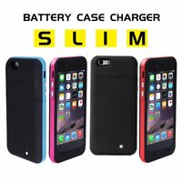 For iPhone 8 7 6 6s Plus Battery Phone Case Portable Charging Charger Power Bank