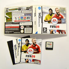 [ DS ] Fifa 09 PAL Usato con Manuale Nintendo DS WI-FI