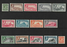 Gibraltar 1938-51 sg121-131 Complete Set of 14 to £1 MNH
