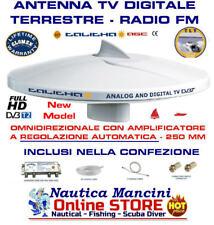 GLOMEX TALITHA AGC - NUOVA ANTENNA TV DIGITALE TERRESTRE V9125 barca camper FM