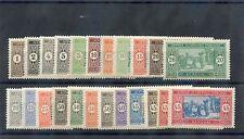 SENEGAL Sc 79-122(YT 53-69,72-86,102-9)**F-VF NH 1914-1933 SET, SCARCE NH, $450
