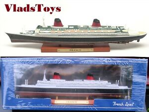 Atlas luxurious Ocean liners 1:1250 Transatlantic CGT SS France 1960 7572-009