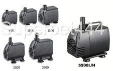 Submersible /Pond/Fountain/Aquarium Pump 600/1000/1500/2500/3500/5000 L/H