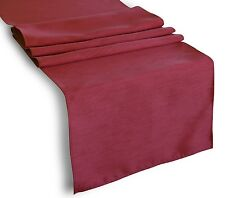 """Faux Silk 13""""x 36"""" Solid Table Runner for Party, Special Event etc."""
