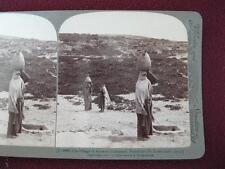 Stereoview Underwood & Underwood The Village Of Amwas Emmaus Palestine 3086 (O)