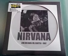 LP Nirvana - LIVE ON KAOS FM SEATTLE 1987 0PICTURE DISC LIMITED EDITION VINILE