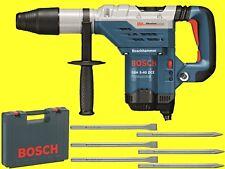 BOSCH Bohrhammer GBH 5-40 DCE + Koffer SDS Max + 3x Flachmeisel + 3 Spitzmeisel