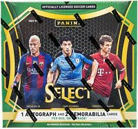 2016-17 Panini Select Soccer Hobby Box RASHFORD PULISIC ROOKIE RC MESSI RONALDO