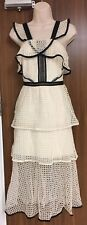 SELF-PORTRAIT Contrast Panel Dress Sizes  UK 6, 8, 10, 12, 14  BNWT