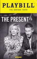 Cate Blanchett & Richard Roxburgh Signed Autographed Playbill