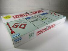 MONOPOLY 1999 Board Game With Original Money Bag Winning Token NEW