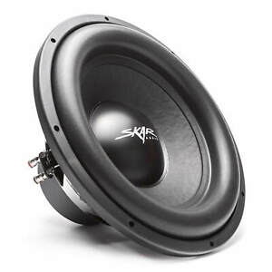 "SKAR AUDIO SDR-15 D4 15"" 1200 WATT MAX POWER DUAL 4 OHM CAR SUBWOOFER"