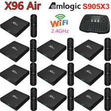 LOT X96 Air Android9.0 TV BOX Media Quad core 4K WiFi Amlogic S905X3 BT4.1 W1X4