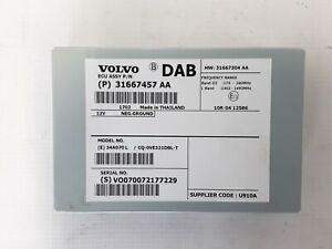 2017 VOLVO V60 DAB ANTENNA TUNER CONTROL MODULE UNIT 31667457