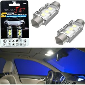 LED 5W Light CANbus 38-39MM White 6000K Two Bulb Interior Glove Box Replacement