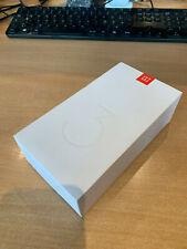 One plus 3 gunmatel Grey Dual SIM octacore 4 gb de memoria RAM, 128 gb de Roma