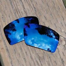 Walleva Mr.Shield Polarized Replacement Ice Blue Lenses for Oakley Eyepatch 2