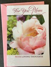 Happy Birthday Mom Card Hallmark Greeting Card Thoughtful