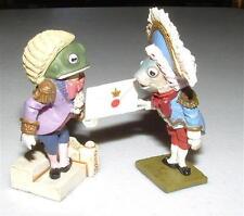 KAIYODO Alice In Wonderland FISH & FROG FOOTMEN Mini Figure SIR JOHN TENNIEL